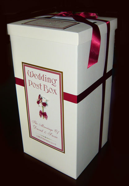 Brambles Wedding Stationery Special Offers – Post Boxes for Wedding Cards